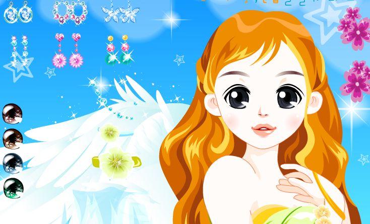 angel dress up games online free